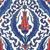 Variation on a 16th Century Iznik Tile Detail with a Tulip in the Center, Rustem Pasa Mosque, Istanbul
