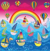 Baloons and Sailboats